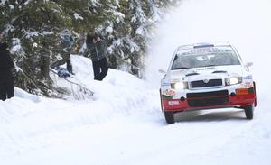 Fjolårets Östersund Winter Rally blev en pangsuccé, med fantastiska vintervägar. Här är en bild från SS 6 i Gällsåberget, strax norr om Lit.