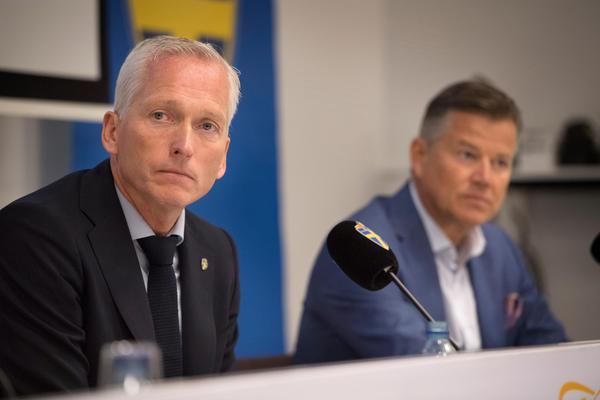 SvFF:s generalsekreterare är kritisk till spelarnas hot om bojkott och strejk. Foto: Jessica Gow.