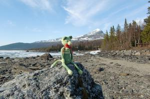 har virkat en hjärtekatt som sitter och väntar på sitt hjärta..hjartekatten.blogspot.com