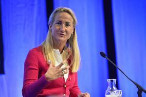 Cecilia Widegren (M). riksdagsledamot Skaraborg socialpolitisk talesperson.