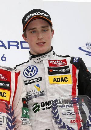 Joel Eriksson gjorde bra ifrån sig i sin F3-debut.