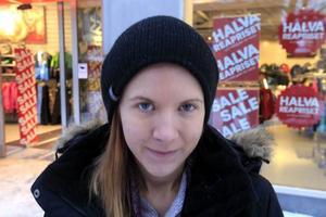 Rebecha Ramström, Östersund.– Ja, eftersom det har varit mycket prat om det på sistone. Använder man en tjej i sin marknadsföring verkar det ju locka, och det är inte så bra.