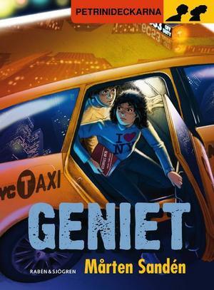 """""""Geniet"""" är den elfte ungdomsdeckaren om tvillingarna Petrini.Foto: Norsteds"""