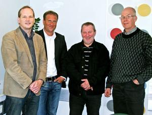 Magnus Ernström på Region Gävleborg hade besök av Anders Thyrén som arbetar för Region Värmland, Jan Bjerkman från klustret Future Position X och professor Lars-Torsten Eriksson.
