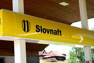 Namnet är så fantastiskt. Slovnaft är troligtvis Slovakiens mest utbredda bensinmackskedja. Foto:Johanna Lundin