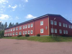 Barack på Älvdalens skjutfält, som nu kan bli flyktingförläggning.