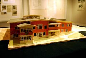 Gunnar Mattssons modell av kulturhuset