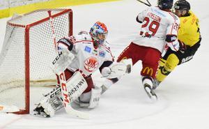 Jonas Fransson höll nollan, ganska bekymmersfritt, i återkomsten till ABB Arena.