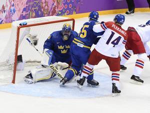 Henrik Lundqvist spelade stort i kassen.