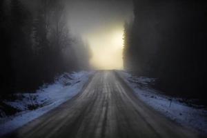 En hel vanlig januaridag i dimman åkte vi mot ljuset för att söka verkligheten. Genom skogarna. Över hedarna.Till slut kom vi till Kälarne. Och en man utan minne.