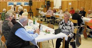 PRO i Grythyttan har haft 60-årsjubileum med en fest för medlemmarna.