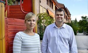 Entreprenörinspiratörer. Johanna Berg och Klas Brynte ska under fyra år stärka entreprenörskap i skolan.