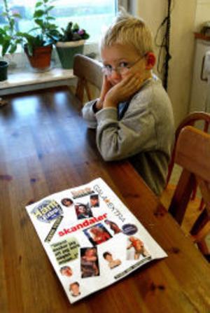 Femåriga Viktor Hellborgs mamma ifrågasätter värderingarna hos Njurunda motorklubb, medan Viktor inte var intresserad av inbjudan.