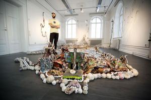 Sebastian Mügge har gjort installationen