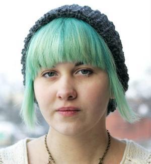 Sara Gefvert, 16 år, Bispgården:– Jag läser redan mycket. Jag älskar att läsa, bara jag hittar rätt bok.