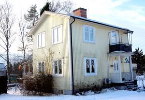 Huset från 1908 behövde renoveras.