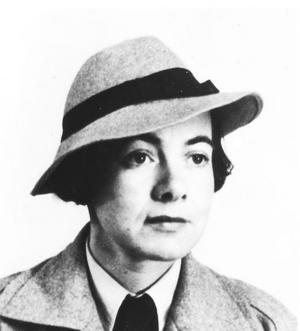 När den här bilden togs, en av de sista, levde Karin Boye tillsammans med tyskjudiska Margot Hanel i Stockholm.