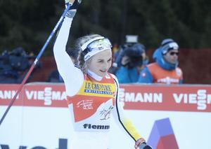 Stina Nilsson blev trea totalt i Tour de Ski.