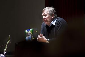 Entreprenör som inspiratör. Bert Karlssons story om sitt liv gillades av Ljusdalspubliken.