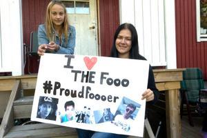 Lovisa Andersson och Moa Eriksson höll på under två veckor med sitt tävlingsbidrag, som är inspelad i trakterna kring deras hemort, Trättsbo.