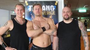 Fredrik Karlsson, Tommie Meyer och Magnus Puumala i Draco Spiritus tävlade om en miljon kronor i Talang Sverige. De gick inte vidare till finalen.