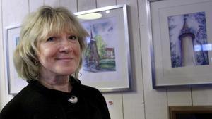 Alevtina Kuzub ställer ut foton och akvareller från  Svartberget i Fagersta.