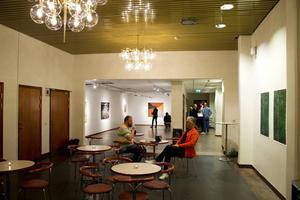 Teatergalleriet i Storsjöteaterns lokaler öppnade under lördagen med Britta Grassmans utställning.