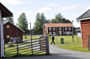 Liksom hembygdsgården i Strömsund.