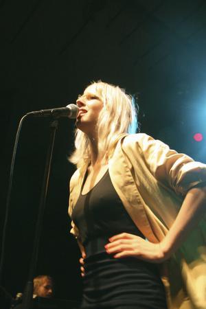 Veronica Maggio, som spelade i Hudiksvall i helgen, börjar smida planer för skiva tre.