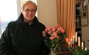 Yvonne Kareliusson ser fram emot att starta en ny tradition för ensamma på söndag i Mockfjärd. Foto: Marcus Simm/DT