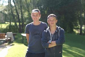 Oskar Jensen, Malmö, och Philip Persson, Karlskrona, båda orienterare och skidåkare, är de som har genomfört projektet