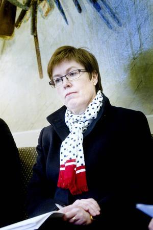 Maj-Britt Johansson är rektor för Högskolan i Gävle.