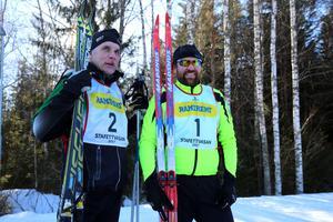 Per Limberg och Kenneth Limberg från Lima Besparingsskog hade nummer två och ett.