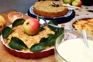 Måltidens dag i Leksand firas med äppelkaka till efterrätt i alla skomatsalar och på de särskilda boendena.
