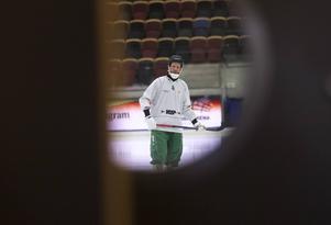 Johan Willes i Göransson Arena under World Cup. En arena han varit många gånger i – och nu ska återvända till för att spela kvartsfinal.