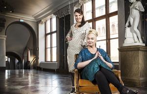 Ella Petersson och Eva Beckman är programledare respektive domare i