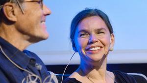 Pernilla Josefsson vann Guldspade. Bilden togs på Bokmässan 2013.