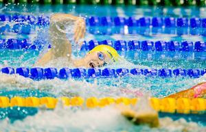 Stina Gardell gjorde en bättre tid i EM-finalen än i försöket på 400 meter medley i sim-EM, något som gav en sjundeplats.
