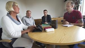 Kulturhusets styrgrupp träffades i går för att bestämma om gruppen skulle godkänna arkitektfirmans förslag. Lena Sundholm, kultur- och fritidschef, är projektledare för kulturhusutredningen. I styrgruppen ingår också Per Österberg, chef på utbildnings- och fritidsförvaltningen, Anders Kilström, kommunchef och Tord Johansson, fastighetschef på NVK.