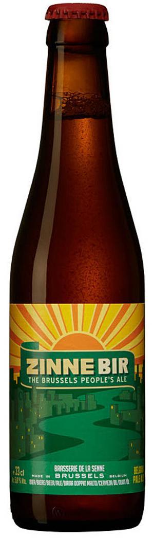 Zinnebir Belgian Pale Ale.