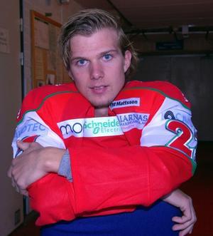 Viktor Amnér från tidiga år. Foto: Jörgen Wåger.