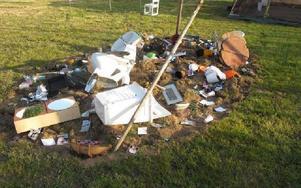 Efter jordbävningen.