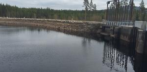Tängers kraftstation i södra änden av sjön Balungen.