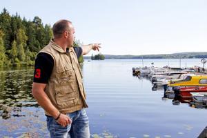 Jan Enberg på Söderala fiskevårdsområdesförening önskar ett gemensamt totalförbud mot nätfiske i kommunen.