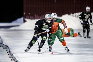 Broberg/Söderhamn var starkare på varje position och hade ett helt annat tempo i spelet.
