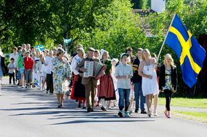 Skolavslutning i Djura. Foto: Mattias Nääs