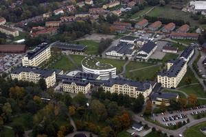 Högskolan i Gävle, lite från ovan...