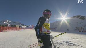 Det blev en tredjeplats i Val Thorens för Victor Andersson.