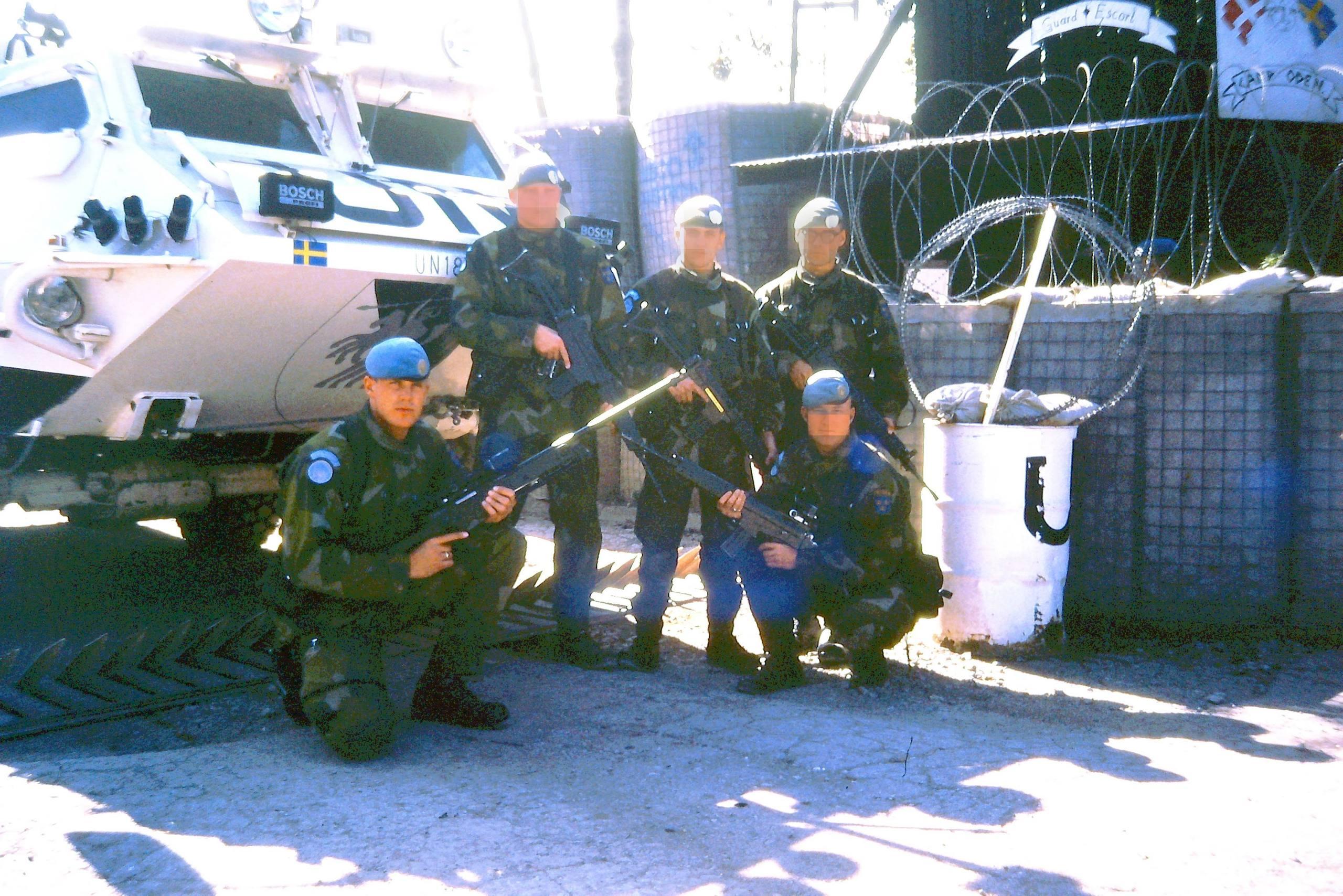 Fler svenska fn soldater till bosnien