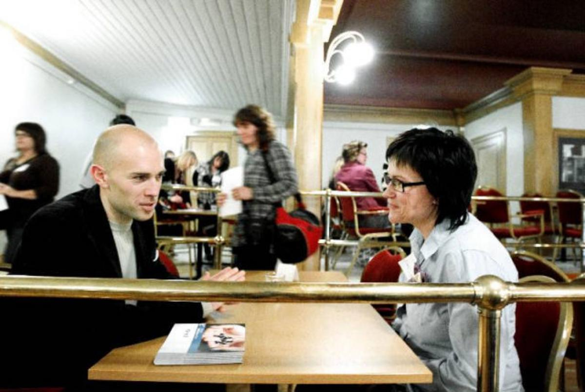 Speed-dating till morgonkaffet - p